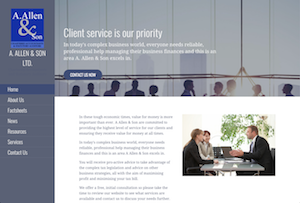 A. Allen & Son Ltd. website