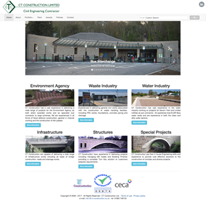 CT Construction Ltd. website