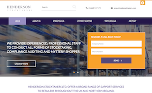 Henderson Stocktakers website