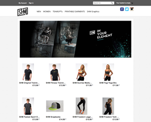 SHM Sports website